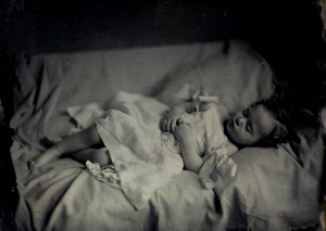 post mortem photograph sleeping toddler