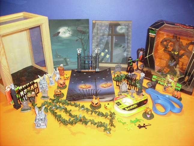 Big Halloween Displays in Small Spaces - Halloween Alliance