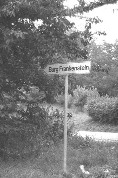 Frankenstein_Road_Sign