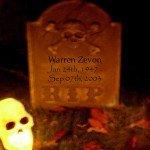 Warren Zevon  thriller tribute