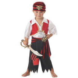 boy toddler pirate costume