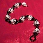 String of Skulls Bracelet