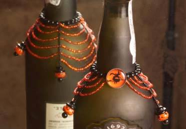 Pumpkin Shroud Wine Jewelry