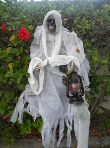 Halloween ghoul ghost prop