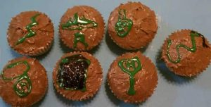 Harry Potter Horcrux Cupcakes