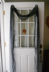 Halloween window coverings