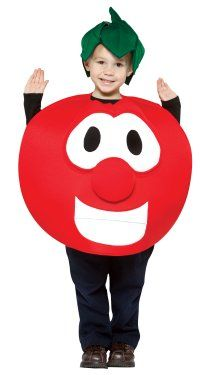 Veggie Tales tomato child costume