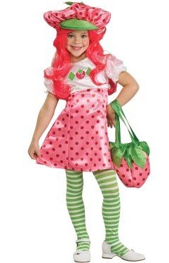 strawberry shortcake child costume