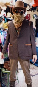 Steampunk cowboy costume