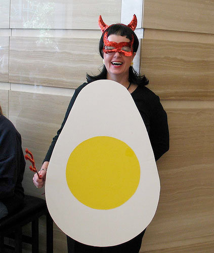 food costumes deviled egg