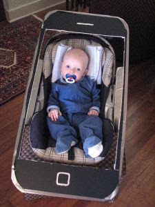 ipone baby costume