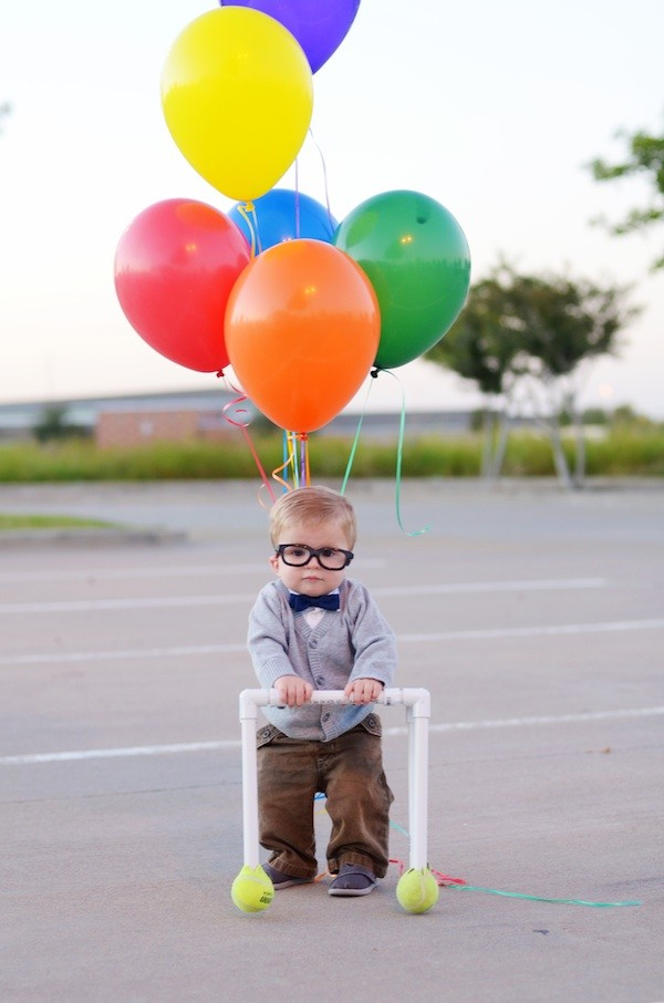 up old man costume for toddler