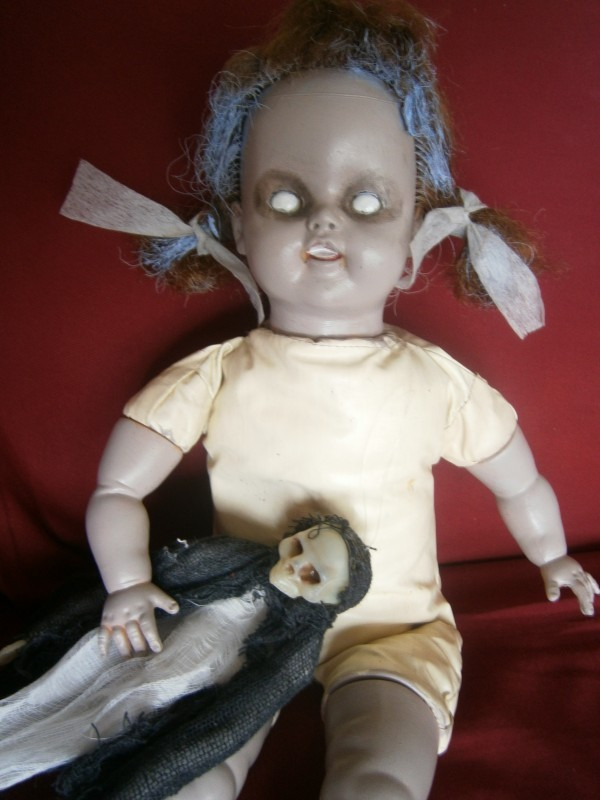 Possessed creeped out doll