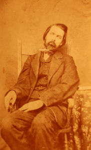 tintype of deceased Civil War hero