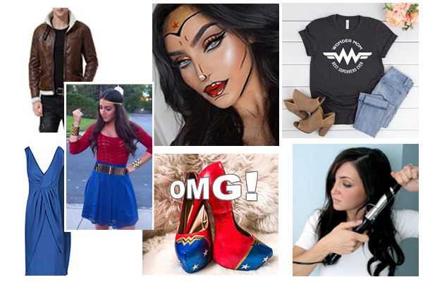 Wonder Woman Halloween costume ideas