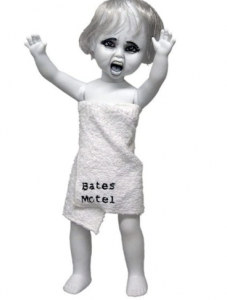 Bates Motel haunted screaming doll