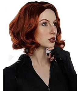Black Widow Natasha's red wig