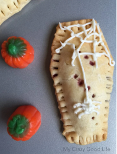 coffin shaped pop tart recipe