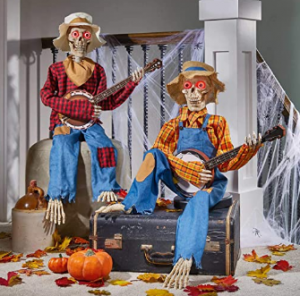 skeletons playing dueling banjos