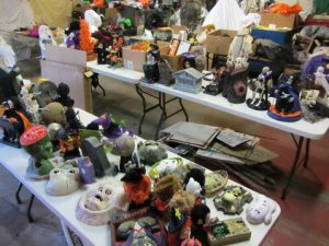 garage sale halloween