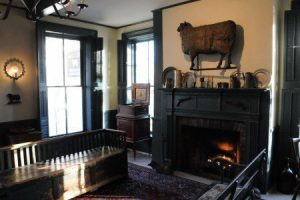 Authentic antiques may be what attract ghostly visitors to the Golden Lamb Inn.