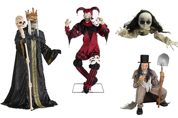 scary Halloween animatronics