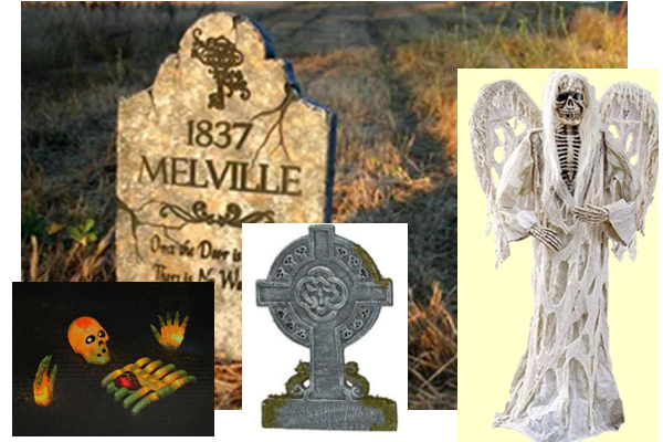 cemetery tombstones from home depot