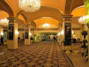 Spirits wandering the halls of the Omni Shoreham are said to be two individuals who died in Suite 870.