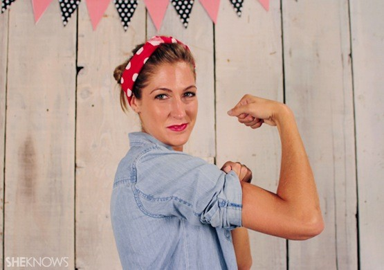 Rosie the Riveter. thechicsite.com